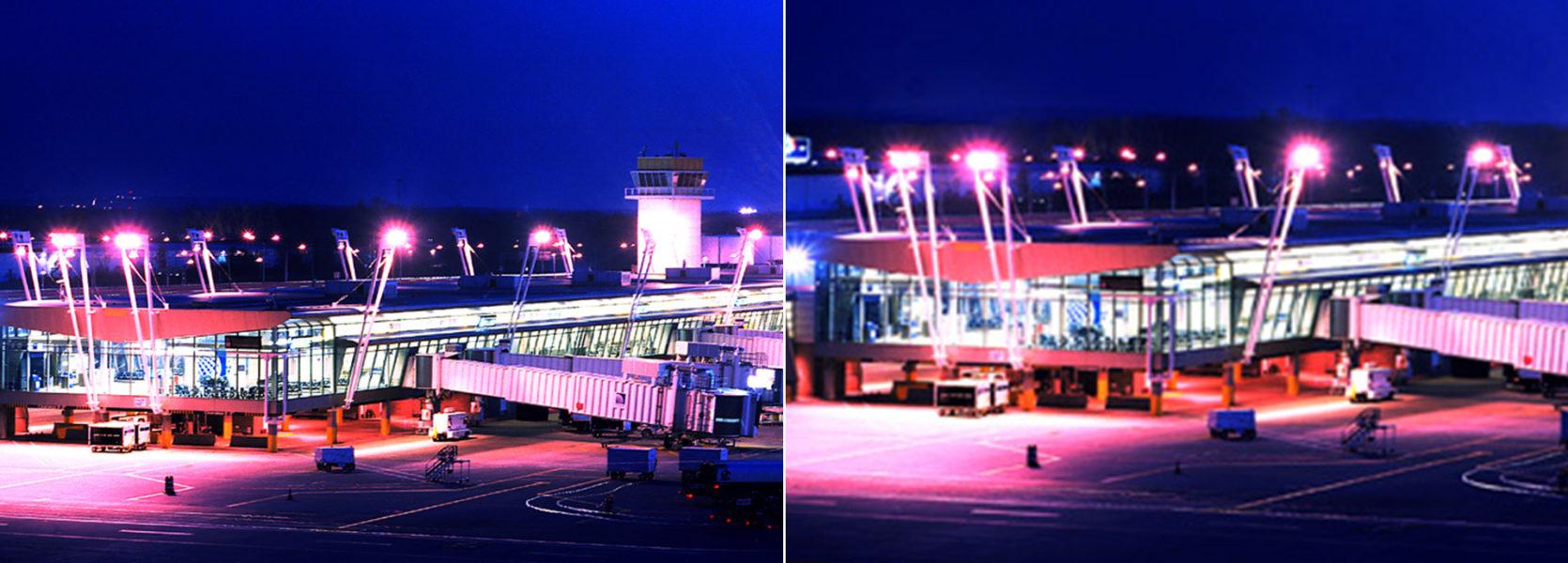 Continental Terminal Hopkins International Airport