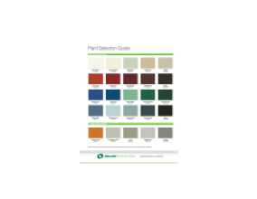 Paint Selection Chart